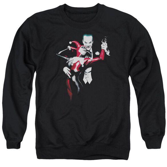 Batman Harley And Joker Adult Crewneck Sweatshirt