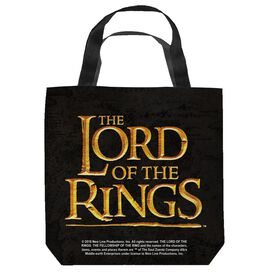 Lord Of The Rings Lor Logo Tote