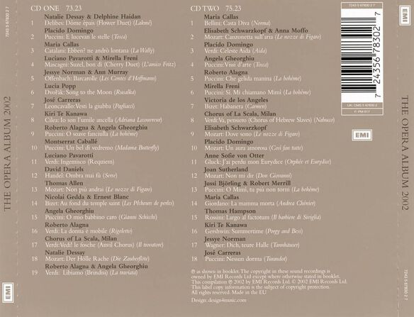Opera Album,The 0802