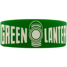 Green Lantern Classic Name Rubber Wristband
