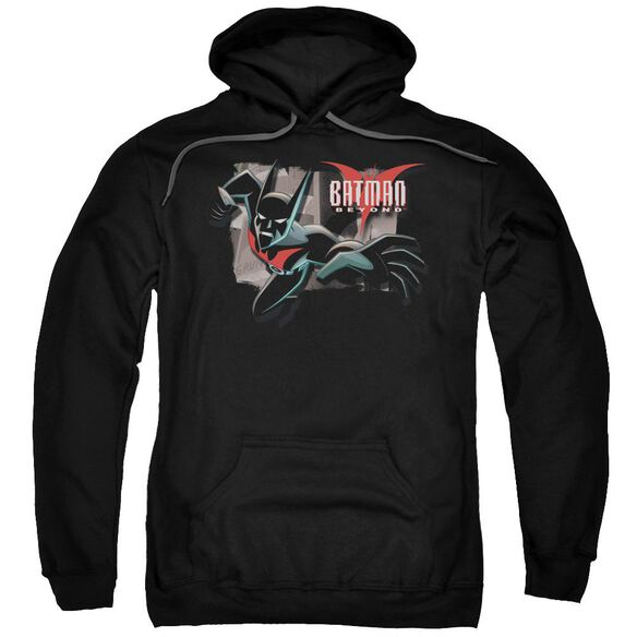 Batman Beyond Out Of The Frame Adult Pull Over Hoodie