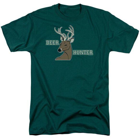 Deer Hunter Short Sleeve Adult Hunter Green T-Shirt