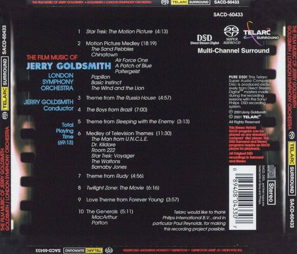 Film Music Of Jerry Golds