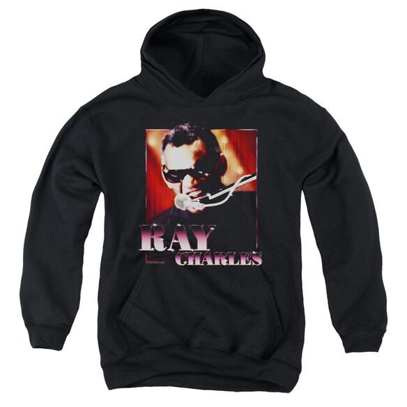 Ray Charles Sing It Youth Pull Over Hoodie