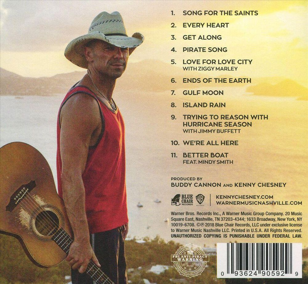 Songs for the Saints by Kenny Chesney - New on CD | FYE