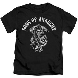 Sons Of Anarchy Soa Reaper Short Sleeve Juvenile T-Shirt