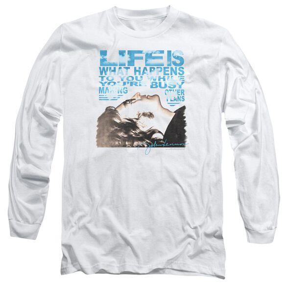 John Lennon Other Plans Long Sleeve Adult T-Shirt