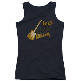 Jeff Beck That Yellow Guitar Juniors Tank Top