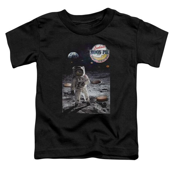 Moon Pie The Truth Short Sleeve Toddler Tee Black T-Shirt