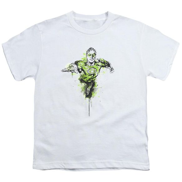 Green Lantern Inked Short Sleeve Youth T-Shirt