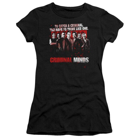 Criminal Minds Think Like One Premium Bella Junior Sheer Jersey