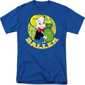 RICHIE RICH BALLER-S/S ADULT T-Shirt