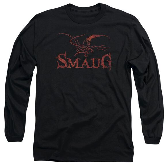 Hobbit Dragon Long Sleeve Adult T-Shirt