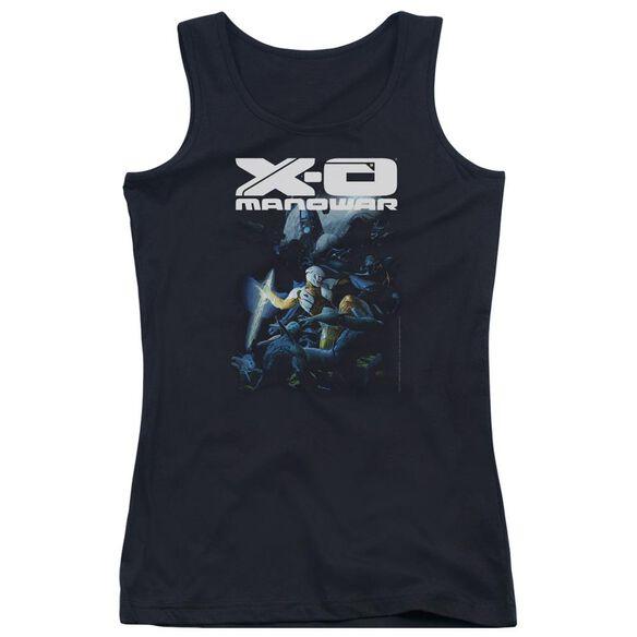 Xo Manowar By The Sword Juniors Tank Top