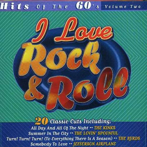 Various Artists - I Love Rock & Roll: Hits Of 60's
