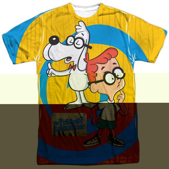 MR PEABODY & SHERMAN EXPLANATION-S/S ADULT T-Shirt