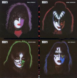 Kiss - Ace, Gene, Peter and Paul (Solos Box Set)