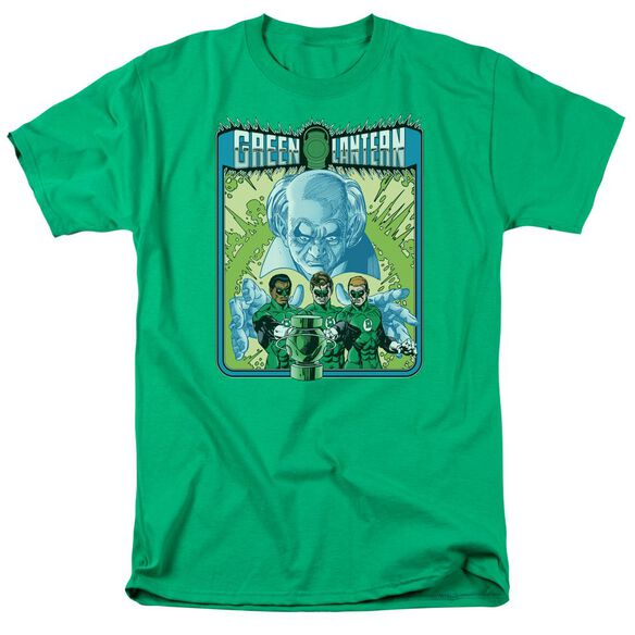Green Lantern Gl #184 Cover Short Sleeve Adult Kelly Green T-Shirt
