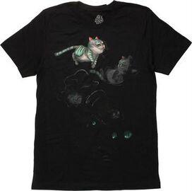 Alice In Wonderland Cheshire Poses T-Shirt