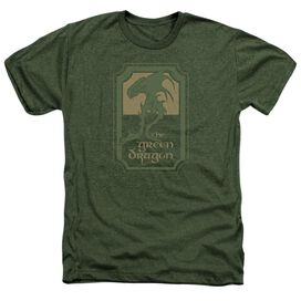 Lord Of The Rings Dragon Tavern Adult Heather Military