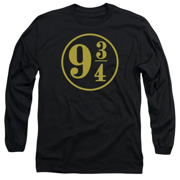 Harry Potter 9 3 4 Long Sleeve Adult T-Shirt