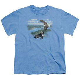 Wildlife Sky Dancers Short Sleeve Youth Carolina T-Shirt