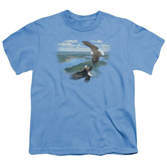 Wildlife Sky Dancers Short Sleeve Youth Carolina T-Shirt