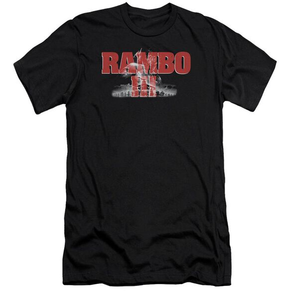 Rambo Iii John Rambo Premuim Canvas Adult Slim Fit