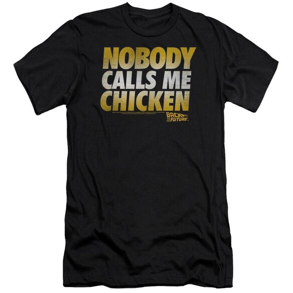 Back To The Future Chicken Premuim Canvas Adult Slim Fit