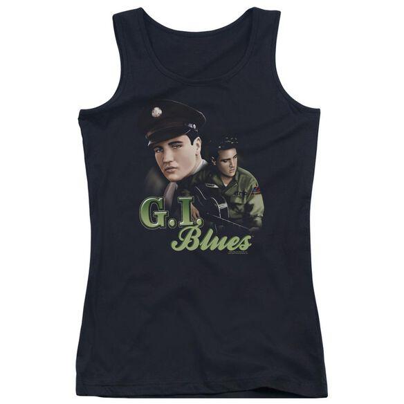 Elvis Presley G I Blues Juniors Tank Top