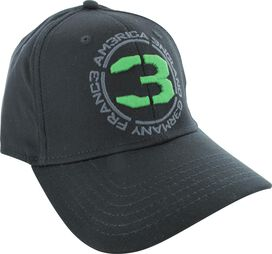 Call of Duty Green Embroidered 3 Flex Hat