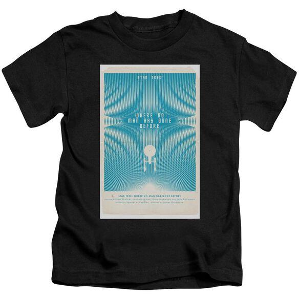 Star Trek Tos Episode 3 Short Sleeve Juvenile Black T-Shirt