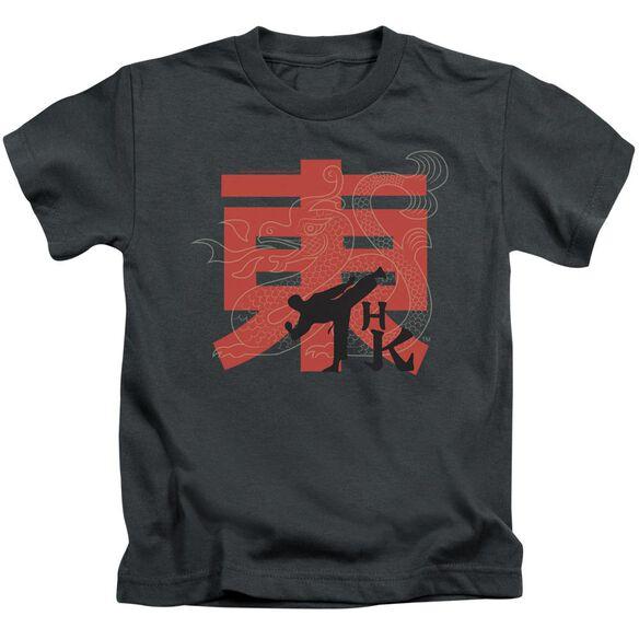 Hai Karate Hk Kick Short Sleeve Juvenile Charcoal Md T-Shirt