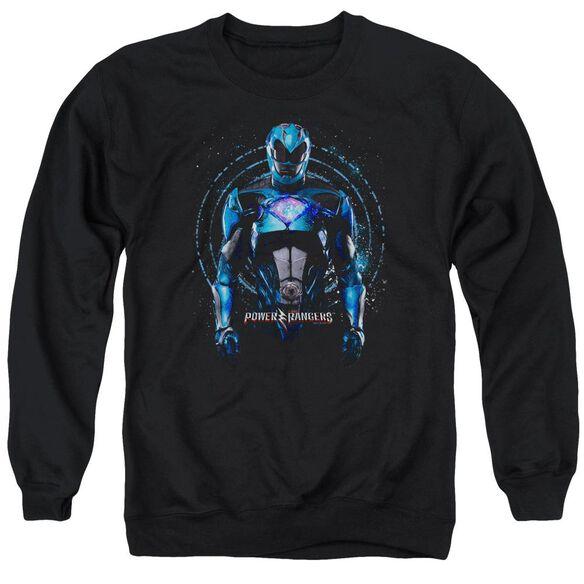 Power Rangers Blue Ranger Adult Crewneck Sweatshirt
