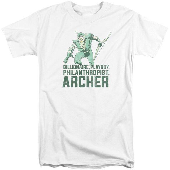 Dc Archer Short Sleeve Adult Tall T-Shirt