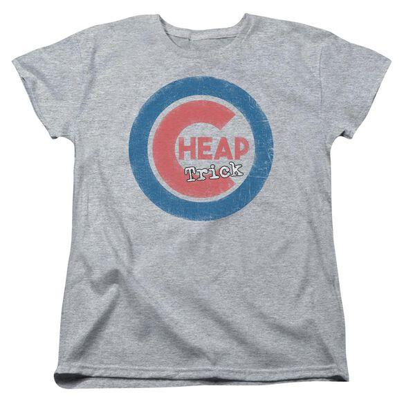 Cheap Trick Cheap Cub Short Sleeve Womens Tee Athletic T-Shirt