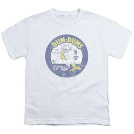 Dum Dums Pop Parade Short Sleeve Youth T-Shirt