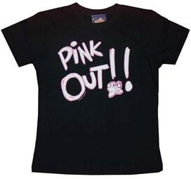 Kirby Pink Out Juniors T-Shirt