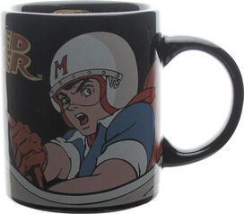 Speed Racer Handle Name Black Mug