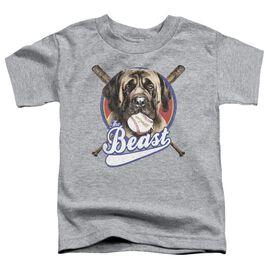 Sandlot The Beast Short Sleeve Toddler Tee Athletic Heather T-Shirt