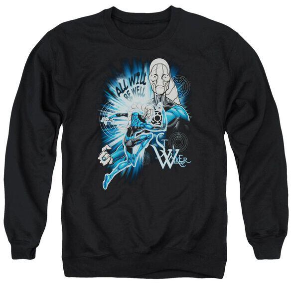 Green Lantern Saint Walker Adult Crewneck Sweatshirt
