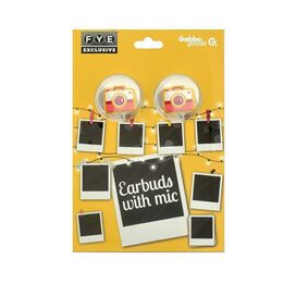 Gabba Goods Polaroid Earbuds w/ Mic