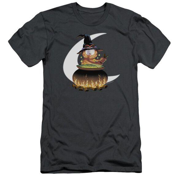 Garfield Stir The Pot Short Sleeve Adult T-Shirt
