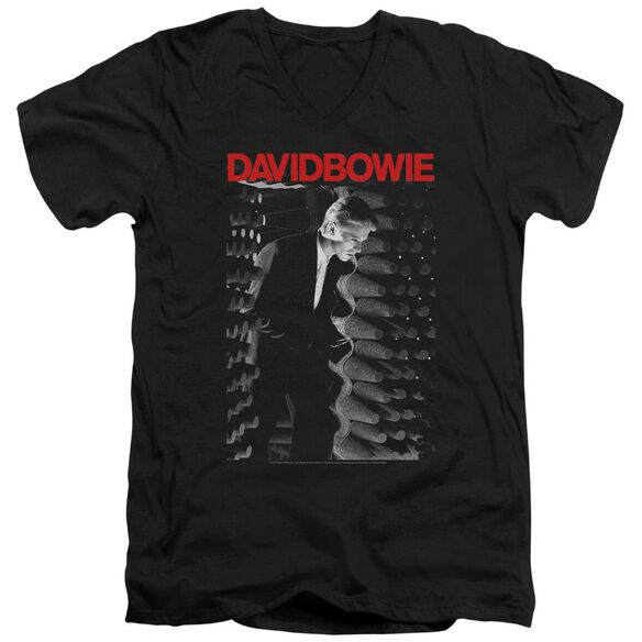 David Bowie Station To Station Short Sleeve Adult V Neck T-Shirt