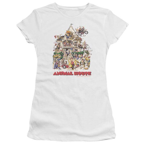 Animal House Poster Art Premium Bella Junior Sheer Jersey