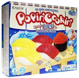 Kracie Popin' Cookin' Diy Candy Sushi Kit