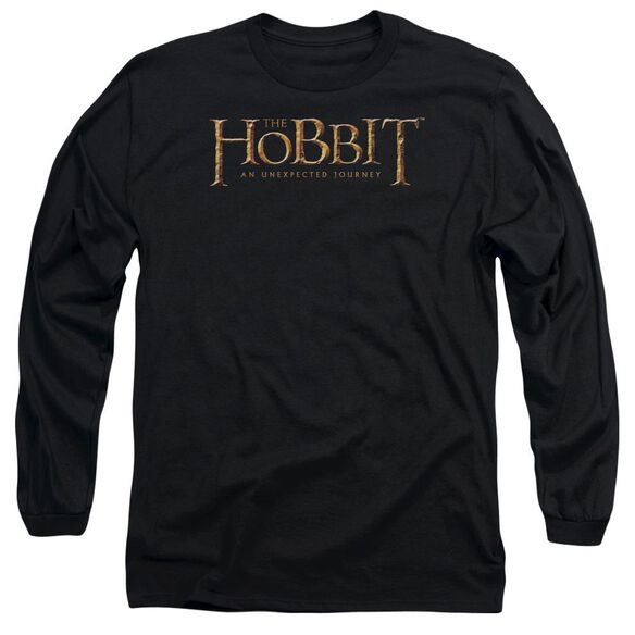 The Hobbit Logo Long Sleeve Adult T-Shirt