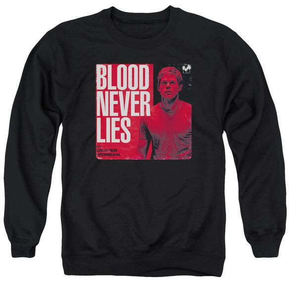 Dexter Cover - Adult Crewneck Sweatshirt - Black