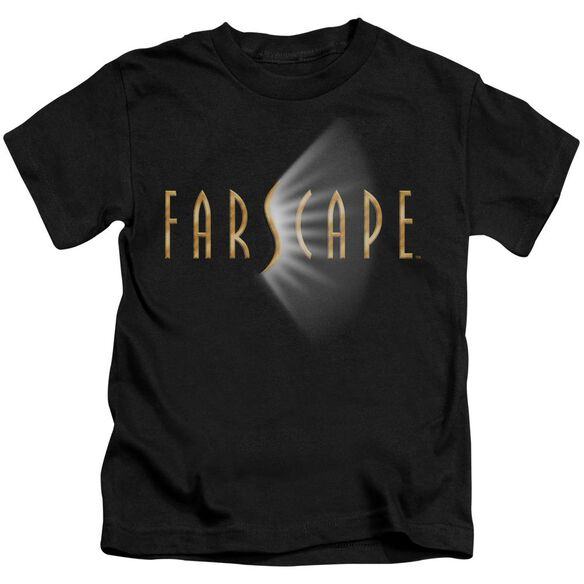 Farscape Logo Short Sleeve Juvenile Black Md T-Shirt