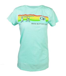 SpongeBob SquarePants Stripes Surf Jr. T-Shirt